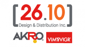 26.10 Design & Distribution Inc. - Logo